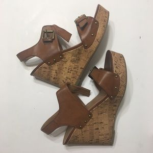 Mossimo Supply Co. Women's Cork Wedge Size 8.5